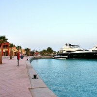 Район отдыха New Hurghada Marina в Хургаде :: Денис Кораблёв