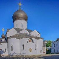Церковь Покрова Пресвятой Богородицы  Марфо-Мариинской обители... :: марк