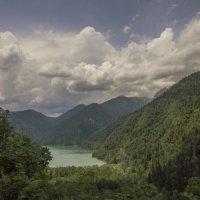 Озеро Рица... :: Сергей Сердечный