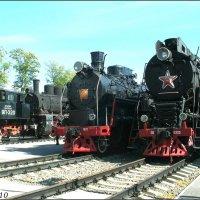 В музее железнодорожной техники :: Нина Бутко