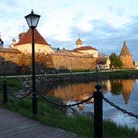 Вид на кремль с причала паломников :: Ольга Кузьмина
