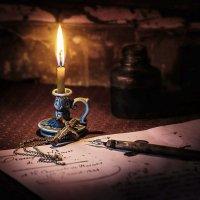 при свече :: Владимир Голиков