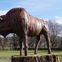 Скульптура бизона :: Natalia Harries