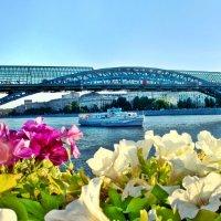 Москва-река субботняя, праздничная, летняя :: Zifa Dimitrieva