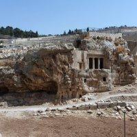 Прогулка по Иерусалиму. Древние захоронения. :: ES