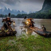 И снова китайские рыбачки! :: Андрей Лукашенко
