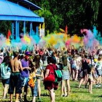 Фестиваль красок Холи в Витебске :: Анастасия Рябова