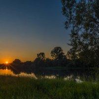 Закат на реке Уфа :: Алена Потураева