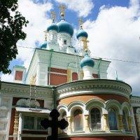 Церковь Покрова Божией Матери в Мариенбурге  (в Егерской слободе Гатчины) :: Елена Павлова (Смолова)