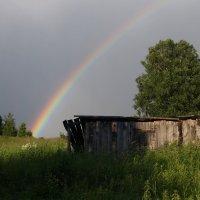 Вечерняя радуга :: Валерий Чепкасов