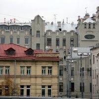 мозаика города или пасмурный день :: Олег Лукьянов