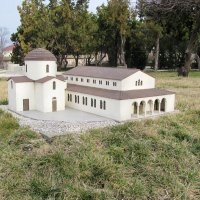 Херсонес в миниатюре-Храм VI в. :: Александр Костьянов