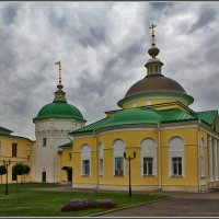 в Николо-Пешношском монастыре :: Дмитрий Анцыферов