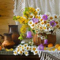 Развесили мило кудряшки Ромашки ромашки ромашки... :: Валентина Колова