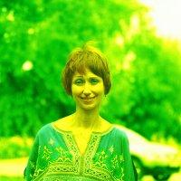 Летне-зелёненькая фотка) :: Евгений Золотаев