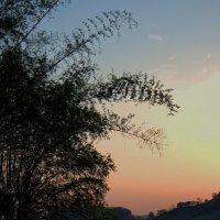 Меконг на закате :: Евгений Печенин