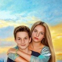 Сестра и брат :: Ирина Kачевская