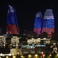 Огненные Башни города Баку :: Алёна Закатченко