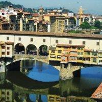Мост Понто Векьо(Золотой мост)Вид с галлереи Вазари.Флоренция :: Natali