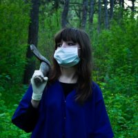 В лесу :: Елена Овчинникова