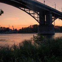 Мост через реку Самарка :: Николай Алехин