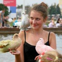 голуби на счастье :: Олег Лукьянов