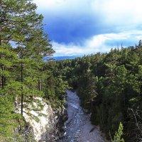 Ущелье реки Кынгарги :: Анатолий Иргл