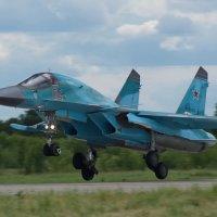 Су-34 Земля уже близко :: Дмитрий Бубер