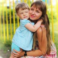 Мама с дочкой :: Наталья Малкина