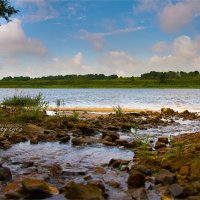 Река Волхов :: Юлия Глазунова