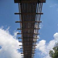 Город Западная Двина. Подвесной мост... :: Владимир Павлов