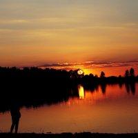 На закате :: Violetta Glazkova