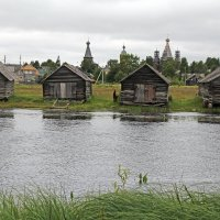 Русский Север. Село Нёнокса. Деревянный мир :: Владимир Шибинский