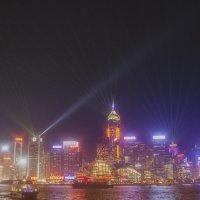 Ночной Гонгконг.Симфония огней. :: Евгений Подложнюк