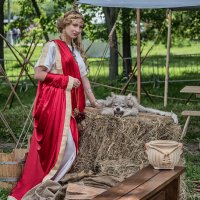 Как серебриста проседь  шкуры   волчьей… Такие  никогда  не заскулят. :: Ирина Данилова