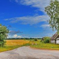Крайний  дом. :: Валера39 Василевский.
