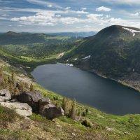 Озеро Золотарное, Ергаки :: Марина Бойко