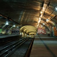 Abandoned Station - Croix Rouge :: Георгий Ланчевский