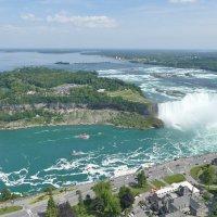 Здесь видны оба водопада.... :: Юрий Поляков