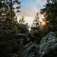 Закат в горах :: Святослав Прутин