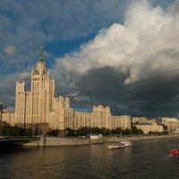 Моя Москва. Высотка на Котельнической :: Алексей Шатерников