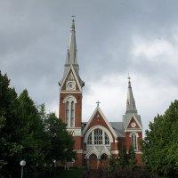 Евангелическо-лютеранская церковь Йоэнсуу, 1903 г. :: Елена Павлова (Смолова)