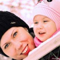Мамочка и дочка :: Ka.chorra Moravia