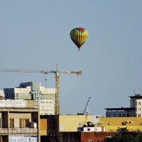 Полет над городом :: Сергей Мышковский