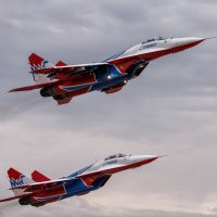 Миг-29 пилотажной группы Стрижи :: Павел Myth Буканов