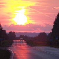 Дорога к солнцу :: Андрей Зайцев