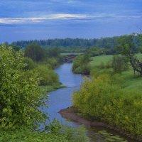 Тихое утро над тихой речкой :: Владимир Максимов