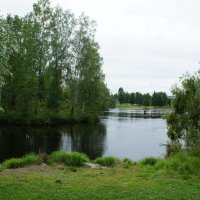 На реке Пиелисйоки :: Елена Павлова (Смолова)