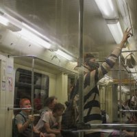 В метро :: Светлана Соловьева