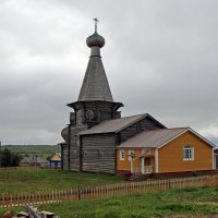 Русский Север. Село Нёнакса. Никольская церковь :: Владимир Шибинский